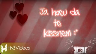 Mr.Black - Ja hocu da te kissnem (Official HD Lyrics Video)