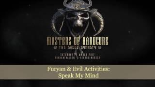 Furyan & Evil Activities: Speak My Mind