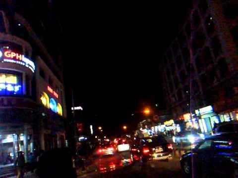 アキーラさん市内散策④!夜のバングラデッシュ・ダッカ!高級住宅街グルシャン地区!Dahka,Bangladesh