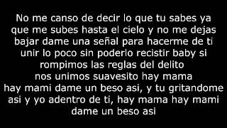 Relajate Conmigo (Letra) - De La Ghetto Ft Arcangel (Original)