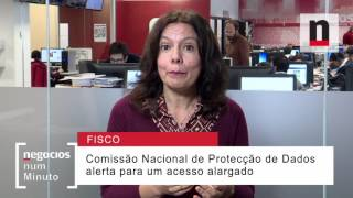 Que alertas são feitos sobre o acesso a dados do Fisco a outras entidades