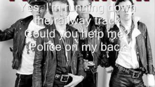 The Clash - Police on my Back (with lyrics)