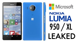 Microsoft Lumia 950 / XL Leaked - Specs & Features!