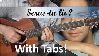 Seras tu là - Michel Berger - Guitare Cover