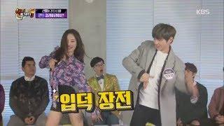 해피투게더3 Happy together Season 3 - 선미X강다니엘 가시나&Tell Me 합동무대(feat.예능 야망주 재환).20180111
