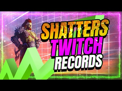 📈Raid SHATTERS Twitch Viewer Record by OVER 100k+