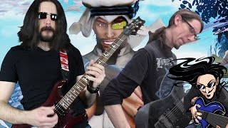 """Street Fighter - Rashid's Theme """"Epic Metal"""" Cover (Little V feat. ToxicxEternity)"""