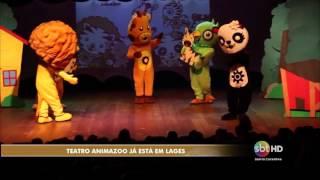 Teatro Animazoo inicia turnê nacional em Lages - Camila Constantini
