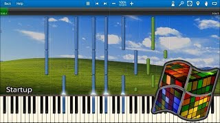 WINDOWS XP SOUNDS IN SYNTHESIA