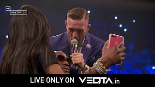 Have a look at Mayweather vs McGregor promotions in India only on Veqta!!