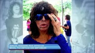 Hora da Venenosa: roqueiro Serguei faz crítica à música sertaneja