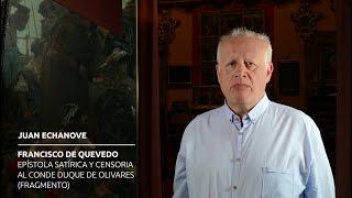 Juan Echanove recita a Quevedo