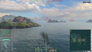 World of Warships - DD disappear :P