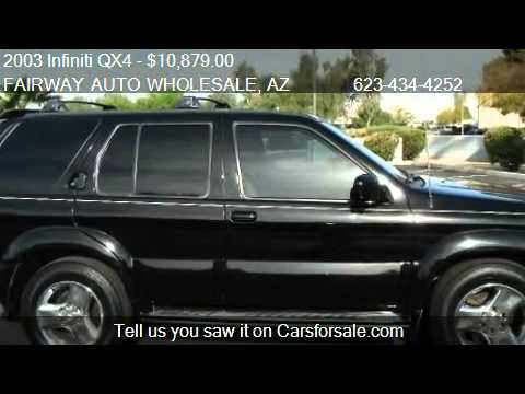 infiniti 2003 qx4 for sale 2003 infiniti qx4. Black Bedroom Furniture Sets. Home Design Ideas