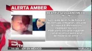 Tres mujeres roban bebé en Jalisco / Activan Alerta Amber / Titulares de la tarde