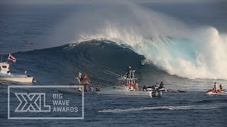Paige Alms at Jaws 7 - 2015 Billabong Ride of the Year Entry - XXL Big Wave Awards
