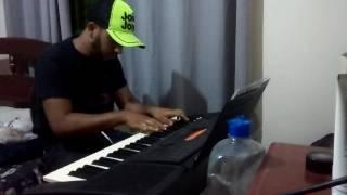 No silêncio -  Ministério Zoe (teclado - iniciante)