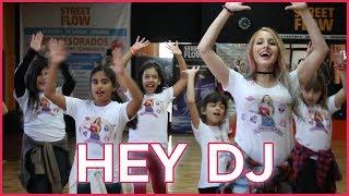 CNCO, Yandel - Hey DJ   Coreografia   A bailar con Maga
