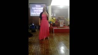Canção{Presença} de Eliane Fernandes , na voz de Cantora Jussara Rodrigues ,Igreja AD de Madureira