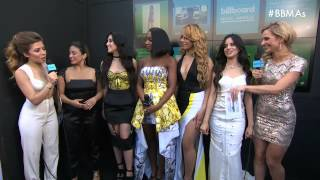 Fifth Harmony Red Carpet Interview - BBMA 2015