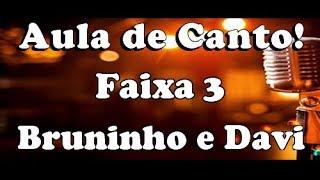 karaoke Faixa 3 Bruninho & Davi ft. Gusttavo Lima