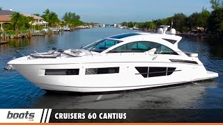 Cruisers 60 Cantius: Video Boat Review