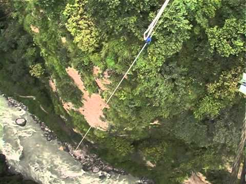 Bungy Jump @ The Last Resort, Nepal
