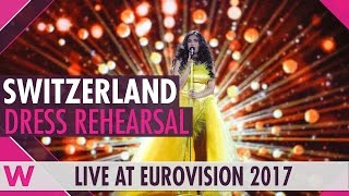 "Switzerland: Timebelle ""Apollo"" semi-final 2 dress rehearsal @ Eurovision 2017"