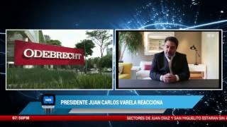 Presidente Juan Carlos Varela reacciona ante declaraciones de Tacla Durán