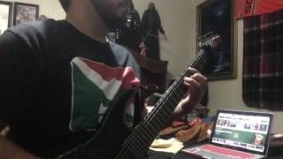 Pestilence - Process of suffocation guitar cover