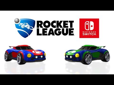 WTFF::: Rocket League for Nintendo Switch Has Super Mario and Metroid-themed Cars