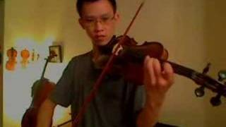 Rohan on Violin - Lord of the Rings - The Two Towers