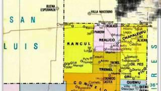 La Pampa y sus departamentos