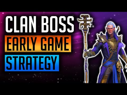 RAID: Shadow Legends | Clan Boss Strategy Early Game! Normal, Hard, earn rewards Free to Play!