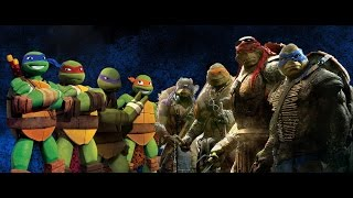 Teenage Mutant Ninja Turtles-2014 VS 2012-ERB