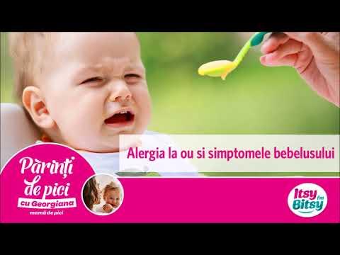 Alergia la ou si simptomele bebelusului