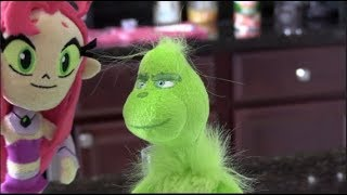 The Grinch Meets Starfire from Teen Titans Go!