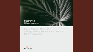 Mass in D major Op.123, 'Missa Solemnis' : III Gratias agimus