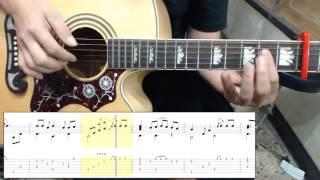 Alan Walker - Faded [Cover] fingerstyle Guitar & TAB