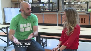 Top Chef Dan Giusti is Transforming New London School Lunches