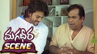 Ram Charan Asking About His Daughters To Brahmanandam || Magadheera Telugu Movie