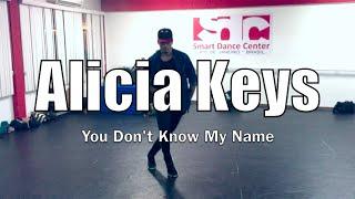 Alicia Keys - You Don't Know My Name  | Choreography @cleitonrioswag
