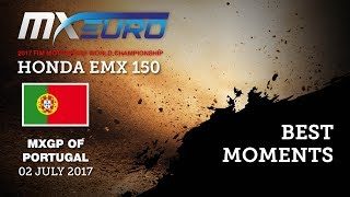 Honda EMX150 Race2 Best Moments_MXGP of Portugal 2017