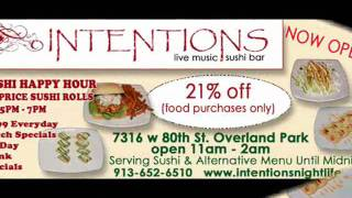 Intentions Sushi Bar and Live Music