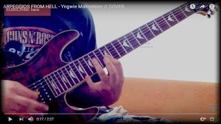 ARPEGGIOS FROM HELL - Yngwie Malmsteen // COVER
