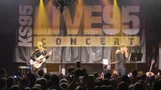 Clouds (by Zach Sobiech) performed by Matchbox Twenty [KS95's Live95 Performance]