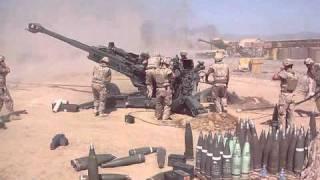 Canadian Artillery in Afghanistan.
