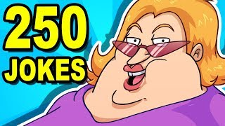 250 JOKES - Can You Watch Them All? width=