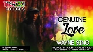 Wayne Sing - Genuine Love ( Reggae )