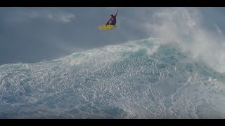 Kai Lenny Tow-Surfing after the Peahi Challenge